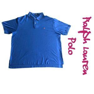 Polo Ralph Lauren Soft Touch Polo Shirt Blue 3XLB